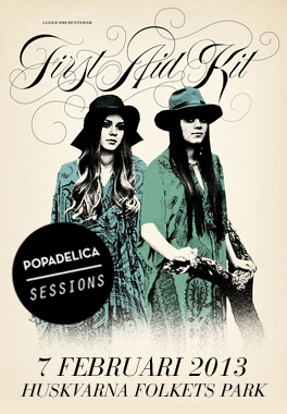 First Aid Kit - Popadelica Sessions